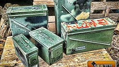 Surplus Military Ammo Cans : Sizes for Survival