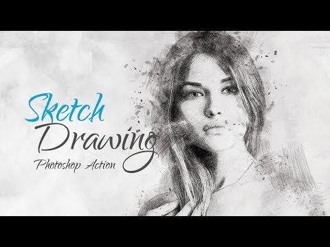 Sketch Drawing   Photoshop Action (Premium Action Guide)
