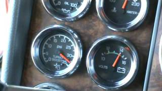 C-15 550 Cat turbo whistle with the windows up