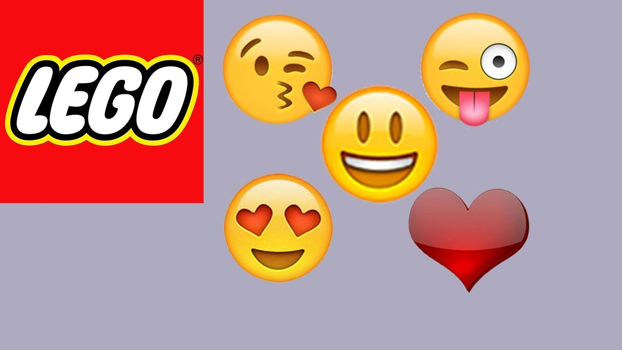 how to build lego emojis bricks and clay play youtube