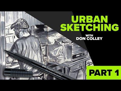 Urban Sketching Series