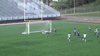 Soccer Goal (1st of the season ) Maxime Daigle Aigles bleus de universite de Moncton