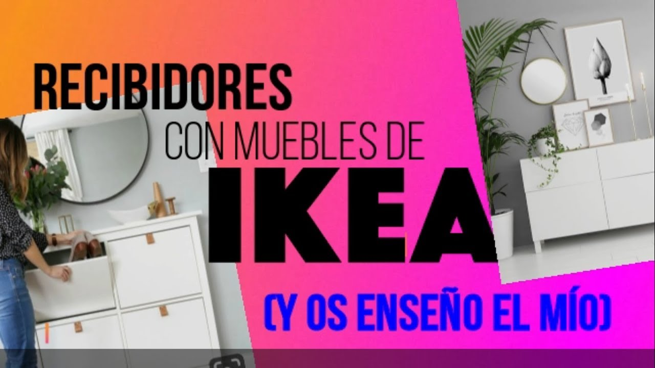 Recibidores Con Muebles De Ikeay Os Enseño El Mío
