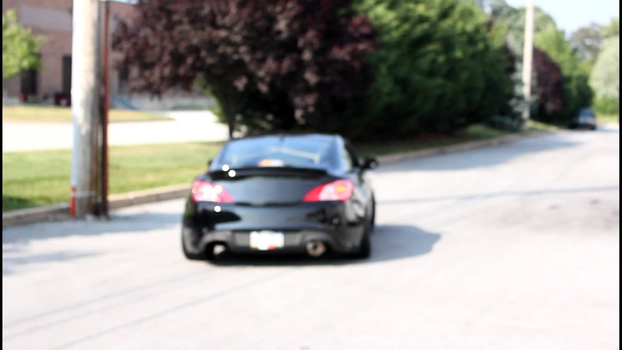 3.8 V6 Twin Turbo Genesis Coupe Finally In Action!   YouTube