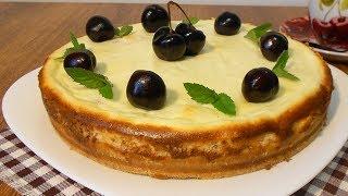 Самое время готовить! Творожный пирог с вишней