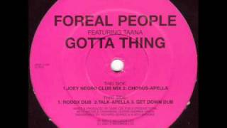 Foreal People - Gotta Thing (Joey Negro Club Mix)