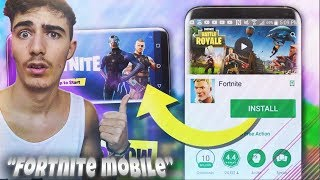 ( OFFICIAL ) Here's HOW to DOWNLOAD FORTNITE FOR ANDROID!! DOWNLOAD FREE ITA