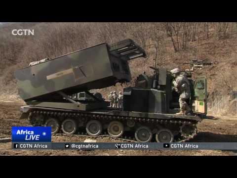Tillerson's  visit focusing on tensions on the Korean Peninsula