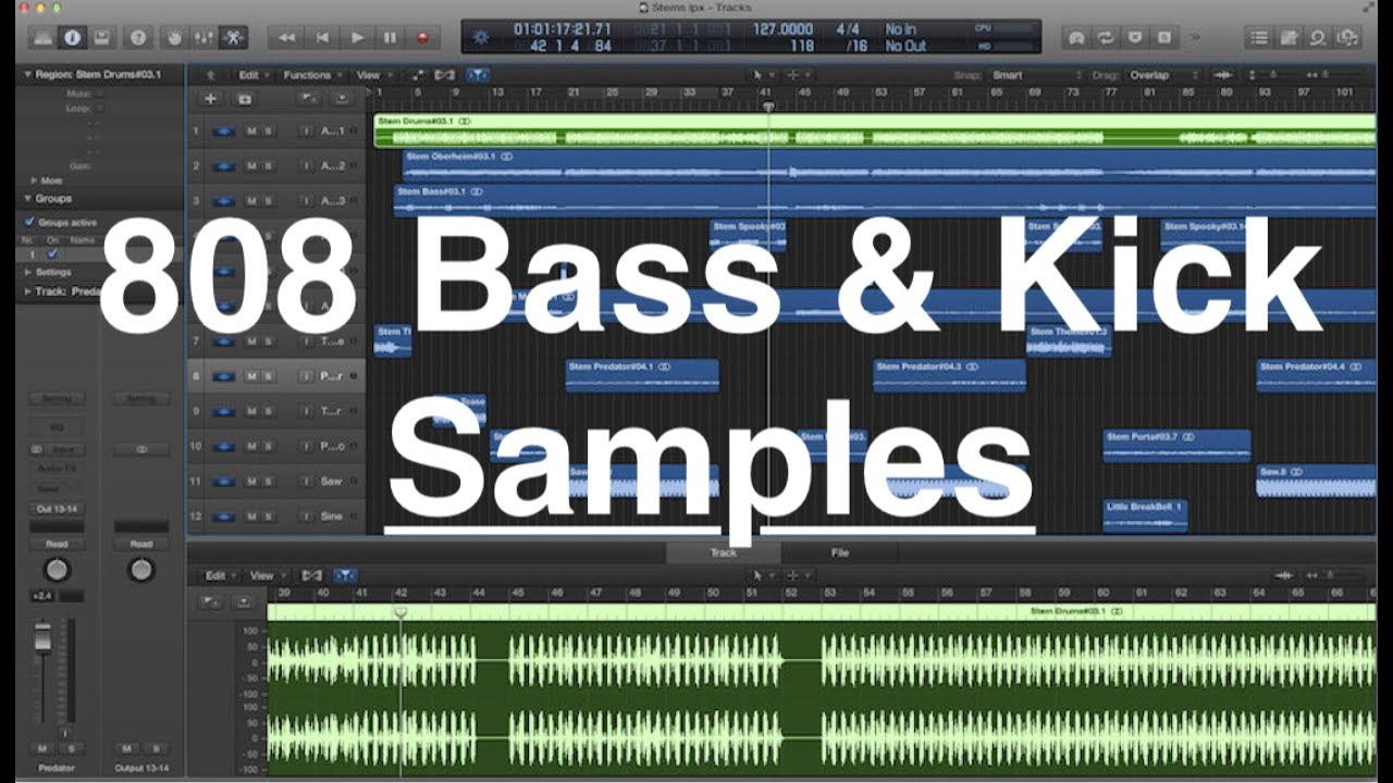 808 bass sound pack vol. 2 (royalty free samples) youtube.