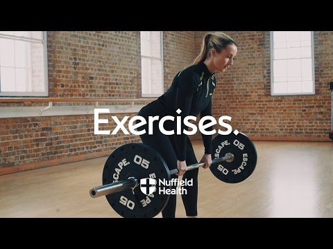 Romanian Deadlift | Nuffield Health