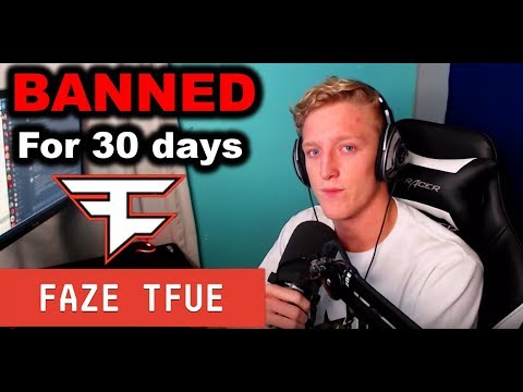 My Brother Banned On Twitch For 30 Days (Explanation) - Faze Tfue