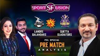 Lahore Qalandars vs Quetta Gladiators LIVE Pre Match Analysis | Sports Fusion Live | GTV News