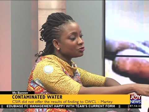 Contaminated water - My Banner on Joy News (17-5-16)