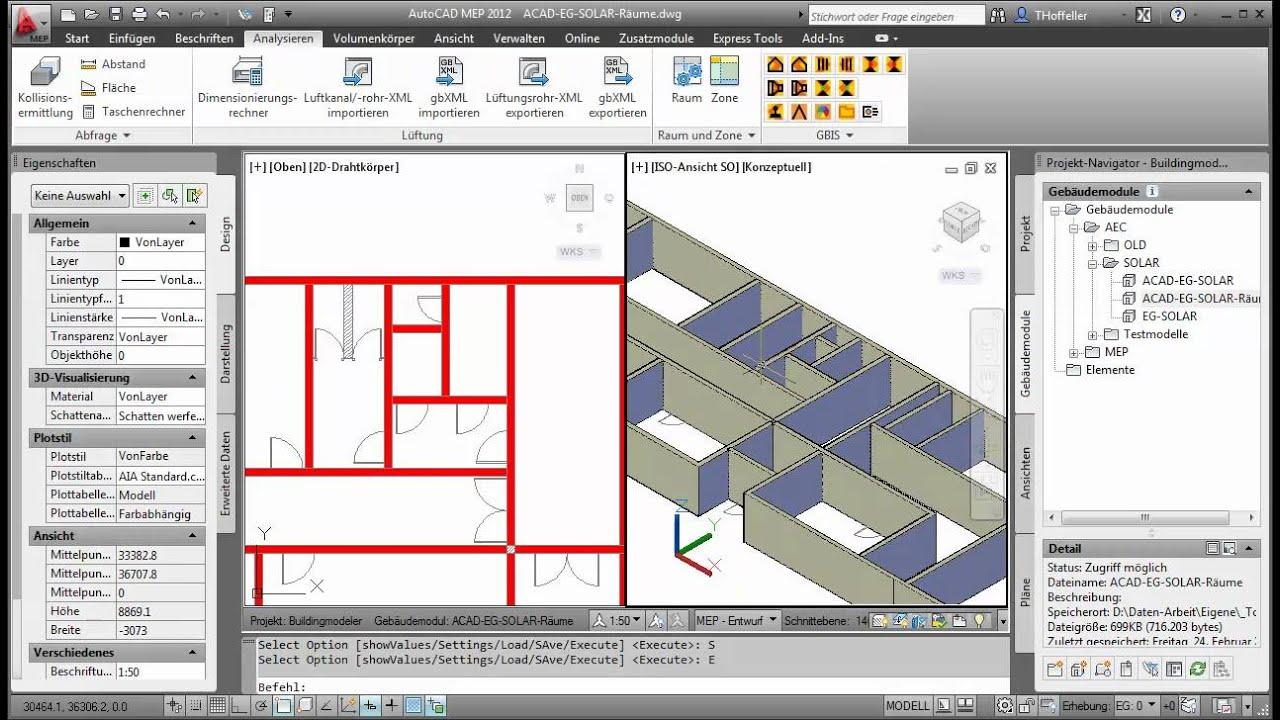 ACABuildingEditor   Wandeln Sie 2d Grundrisse In 3D Modelle BIM Um