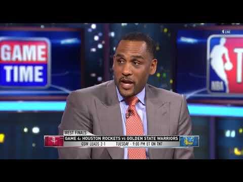 Warriors vs Rockets Game 4 Look Ahead | NBA Gametime | May 21, 2018