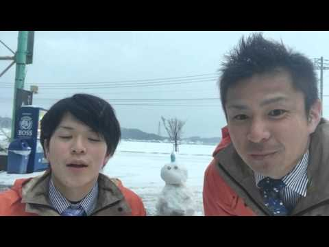 大雪と心温まるリースキンTV☆
