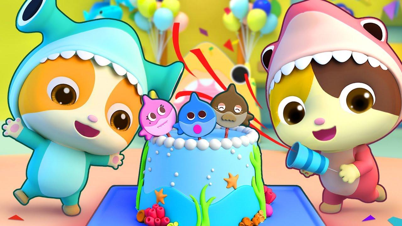 La Fiesta de Cumpleaños | Canciones Infantiles | Baby Shark | BabyBus Español