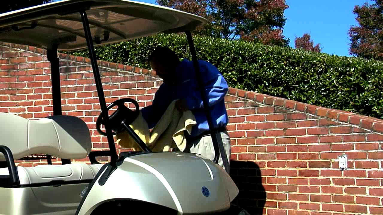 Proper Golf Cart Cleaning Tips - YouTube on