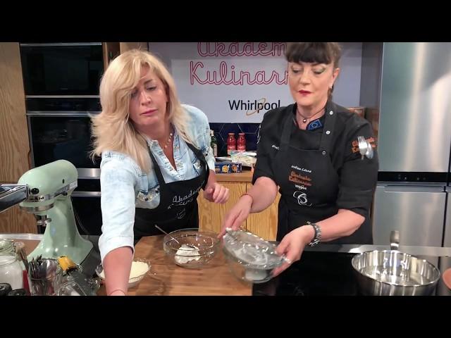 Gotowanie w Akademii Kulinarnej Whirlpool – Cristina Catese & Blanka