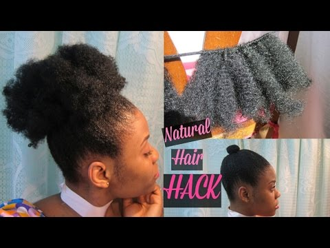 Diy Clip Ins Crochet Braids For 4b And 4c Hair