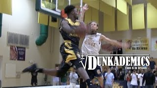 CRAZY DunkCam Sequence! Doug Anderson Gets Blocked - Then Windmills on Luis Rivera! Video