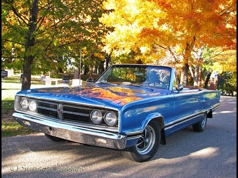 Classic Cars For Sale Mn >> 1967 Dodge Coronet 500 Convertible for Sale - YouTube