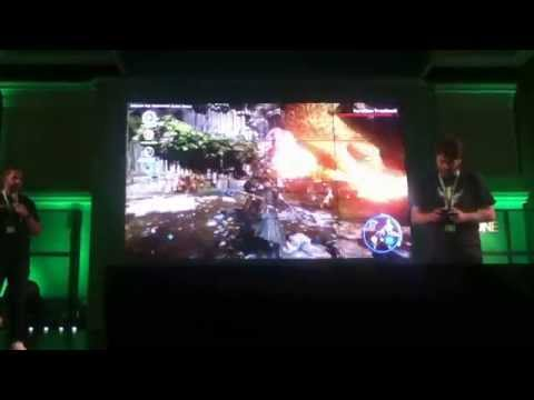 San Diego Comic Con 2014 Dragon Age Inquisition stage demo take 2
