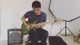 Oncy ungu Tes gitar baru keren banget