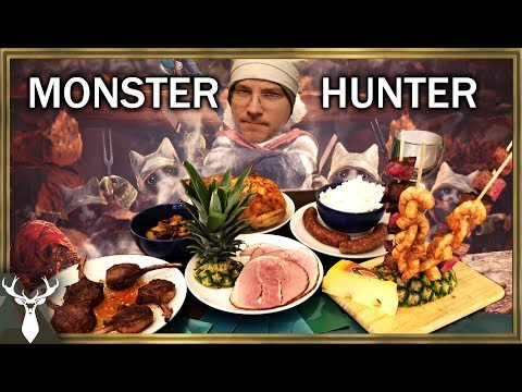 Holtz and Datto Prepare for a Hunt (Monster Hunter World Cooking)
