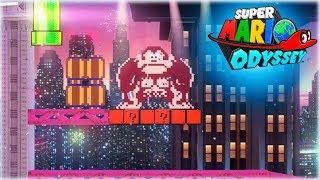 ¡¡ EL MEJOR FESTIVAL 2D CON DONKEY KONG !! - Super Mario Odyssey Gameplay Español#7 - [WithZack]