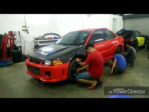 Proton Putra AWD Project (installing The Parts) - Part 2 By Rizqo Autowerkz