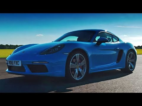 Porsche 718 Cayman S | Top Gear Series 24 | BBC