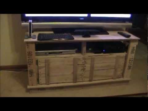 How to build wooden kennel, how to build a tv stand out of ...