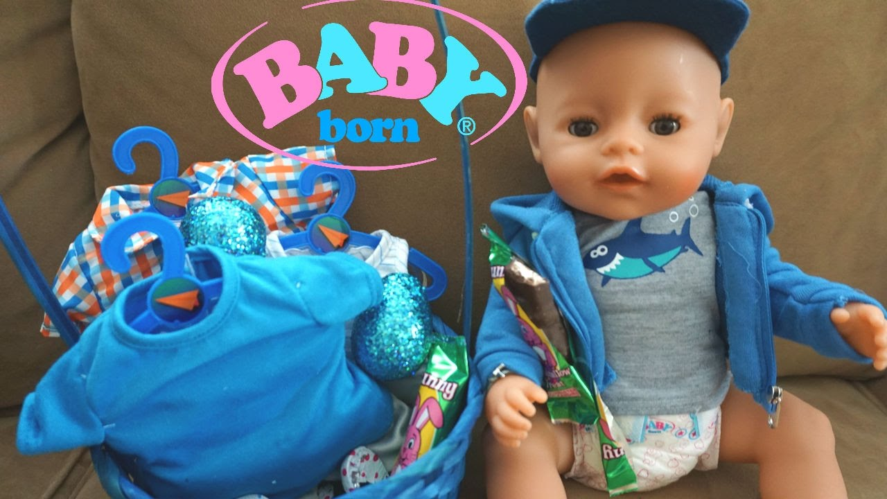 Baby Born Ben S Easter Basket New Clothes Youtube