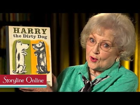 Harry the Dirty Dog read by Betty White