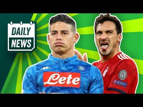 James nach Neapel? Hummels zum BVB? Pogba und Neymar vor Transfers? Bale zum FCB?  Transfer News!