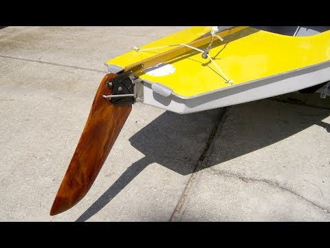 Old Style Sunfish Rudder Replacement