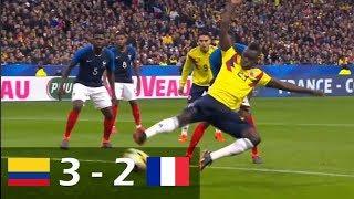 Colombia vs Francia - Todos los Goles y Resumen (23/03/2018)