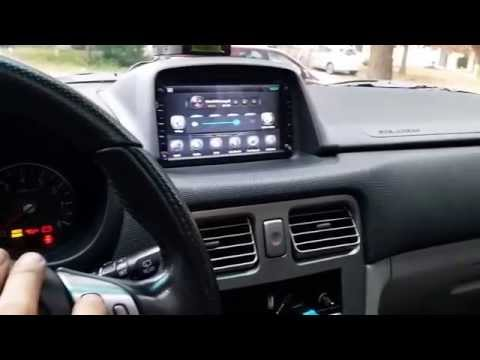 2006 Forester Android Head Unit Finished Product