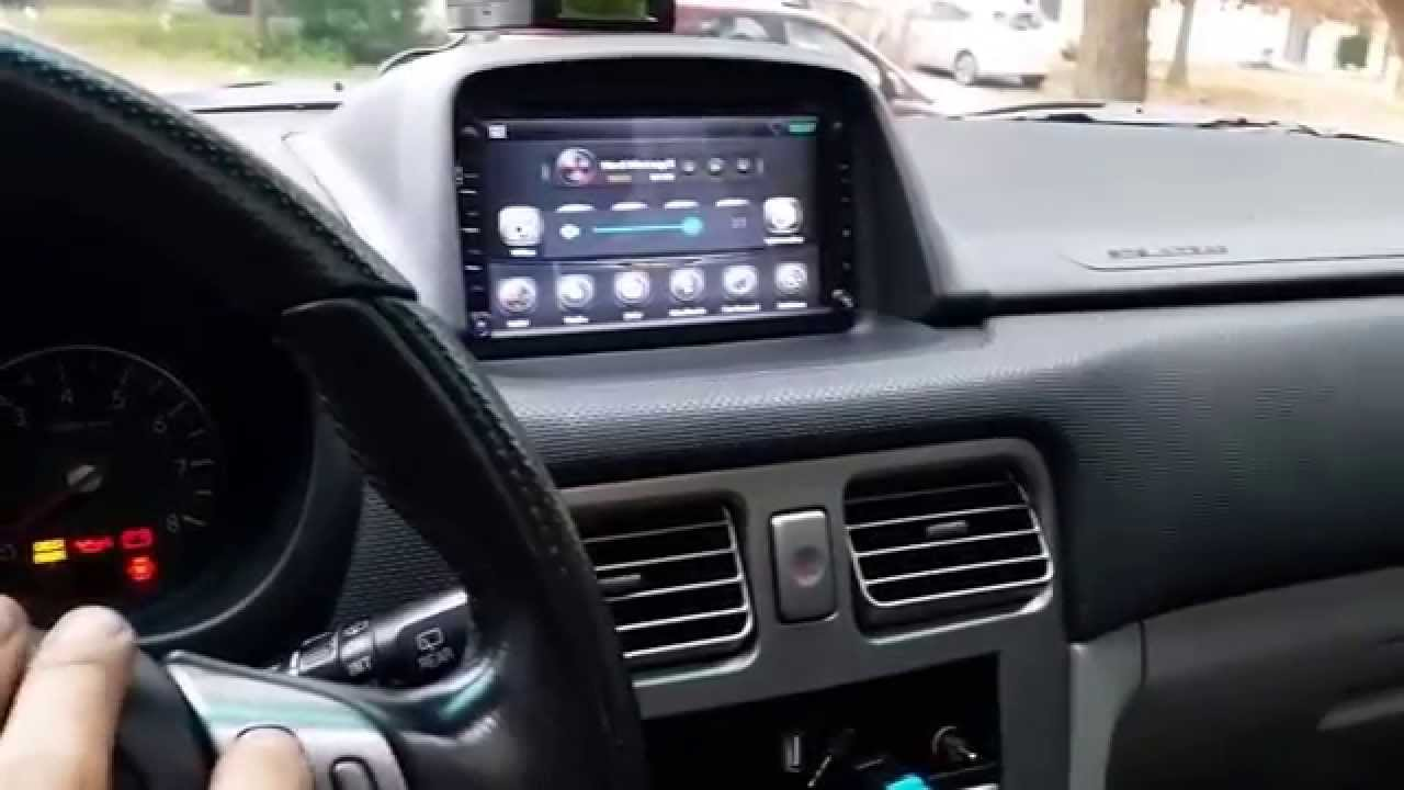 2016 toyota corolla wiring diagram 2006 forester android head unit finished product youtube  2006 forester android head unit finished product youtube