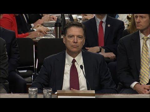 Full James Comey Testimony on President Donald Trump, Russia Investigation at Senate Hearing