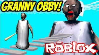 Playing a Granny Obby AS GRANNY! | Roblox Gameplay | Granny Roblox Obby