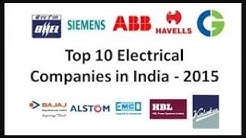 Top 10 Electrical Companies in India