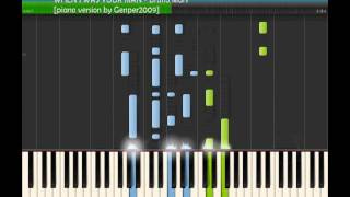 """WHEN I WAS YOUR MAN - Bruno Mars [piano tutorial cover by """"genper2009""""]"""