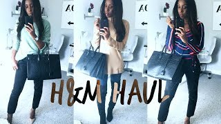 A FIVE MINUTE H&M AUTUMN TRY ON HAUL!! | Style With Substance