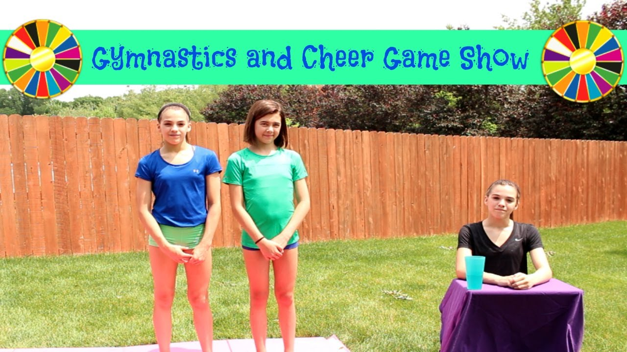 3d5b2825749 Cheer and Gymnastics Game Show! - YouTube