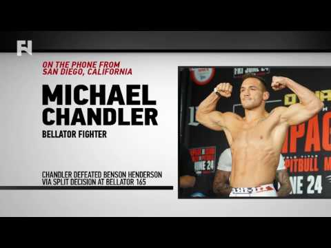 "Michael Chandler 'Wants Josh Thomson' Next - ""Biggest Name in Lightweight Division Besides Benson"""