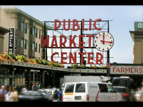 Seattle Public Market Center & Farmers Market