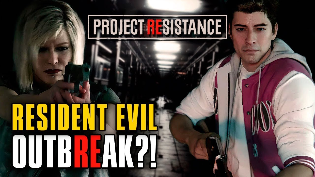 RE OUTBREAK OU RE3 REMAKE? O QUE SERÁ ESSE PROJECT RESISTANCE? | Delkoz Play