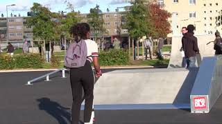Inauguration Skate-park - Quartier de la Morlande - Avallon (89)